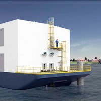A floating data centre in Limerick has been given clearance, ending a months-long dispute