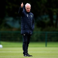 No surprises in Ireland team selected for Euro 2020 qualifier against Switzerland