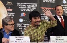 Pacquiao big part of Roach's Hall of Fame journey