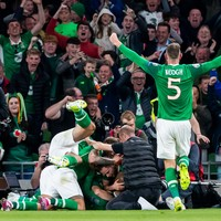 Watch: The goal that sent the Aviva wild tonight