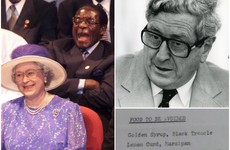 Acceptable in the 80s: Ireland once regarded Mugabe as a respected statesman and honoured guest