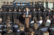 Police chief criticises Boris Johnson for using officers as backdrop for a political speech