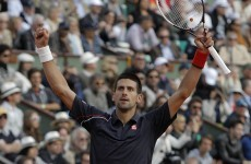 Djokovic crushes Federer to reach French Open final