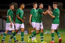 Tottenham's Troy Parrott scores on debut as Ireland win in Tallaght