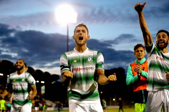 Grace's 93rd minute header sees Shamrock Rovers book FAI Cup semi-final spot