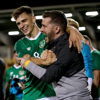 Ireland's man of the match is targeting regular football at club level