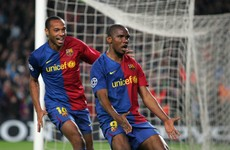 Three-time Champions League winner Samuel Eto'o hangs up his boots for 'new challenge'