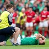 Ireland to assess Earls after Munster winger pulls up against Wales