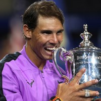 Rafa Nadal emotional after 'crazy' US Open final win over Medvedev