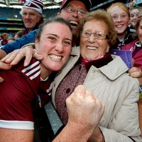 'I had my 87-year-old Granny out there with me so this one's for her. It's a dream come true'