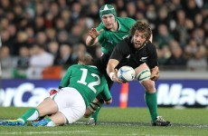 As it happened: Ireland v New Zealand, First Test