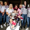 'He told me we better win' - Galway star meets clubmate as All-Ireland heroes visit Children's Hospital