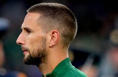 Conor Hourihane to start at left-back for Ireland against Bulgaria