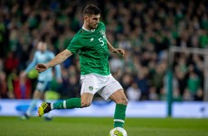 John Egan to captain Ireland in tonight's Aviva Stadium friendly