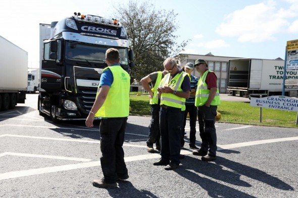 Meat Industry Ireland says 3,000 workers have been laid off because of 'illegal blockades'