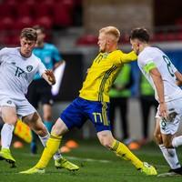 Stephen Kenny hails 'outstanding' Ireland U21 side after superb win in Sweden