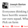 Barton - I would be in England squad if I behaved