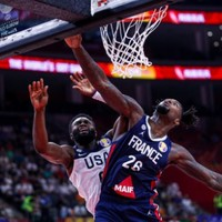 France inflict first Basketball World Cup defeat in 13 years on makeshift USA