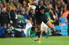 All Blacks 'Bus' drives Ireland to despair