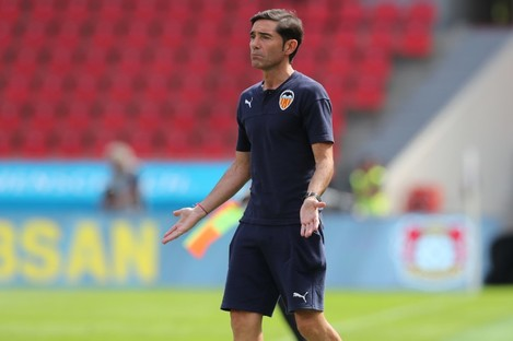 Marcelino has been in charge since 2017.