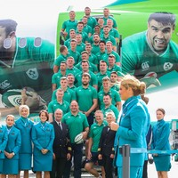 In pics: Smiles all round as Irish squad departs for Rugby World Cup