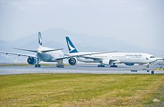 Cathay Pacific announces it is suspending its Dublin-Hong Kong service
