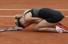 Sharapova makes history with French Open win