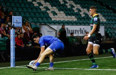 Leinster go three from three in pre-season with victory at Northampton