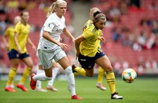 McCabe and Quinn help Arsenal to emphatic Women's Champions League win