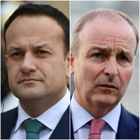 Varadkar says FG would consider supporting FF if it won most seats — but not if it had a larger coalition