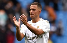 Hazard makes bright debut cameo as Madrid lift early pressure on Zidane