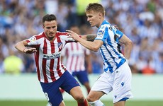 Monreal scores on debut as Atletico slump to first La Liga defeat