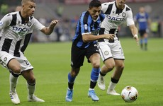 Sanchez debuts as Inter maintain 100% Serie A start