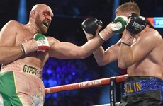 Fury wants to face 'bum' Wilder in February after surviving scare