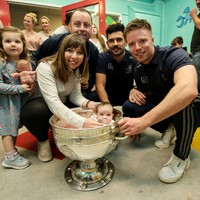 In pictures: All-Ireland champions Dublin visit children's hospitals with Sam Maguire