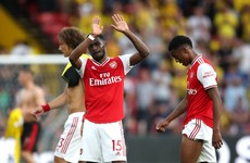Arsenal blow two-goal lead to drop points at lowly Watford