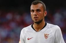Jordan free-kick fires Sevilla to top of La Liga