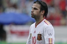 Fabregas confident of historic Spain treble