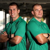Ruddock family 'hugely proud' with Rhys and Ciaran both at World Cup