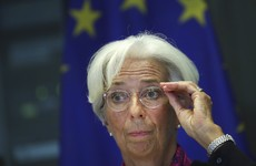 Christine Lagarde a no-show as she's voted in as new ECB President by secret ballot