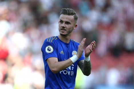 Leicester City's James Maddison (file pic).