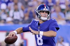 Giants bench Eli Manning and name 1st-round pick Daniel Jones as starting QB