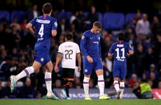 Ross Barkley rues missed penalty as Chelsea are beaten at home by Valencia