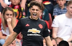 'I nearly gave up football when I was 12' - Man United star James
