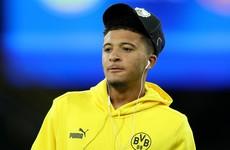 Man United target Sancho 'not for sale'