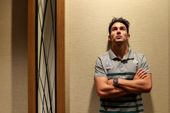 Carbery comes through 'nervous days' of injury to make the World Cup