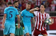 Spurs blow two-goal lead in Greece to begin Champions League campaign with a draw