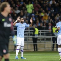 City bounce back with comfortable Champions League win over Shaktar