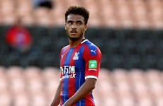 Ireland U19 midfielder bemoans not being sent out on loan by Crystal Palace