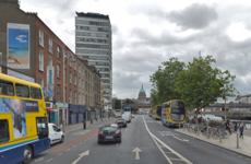 Heavy traffic in Dublin city centre as Eden Quay closed following collision